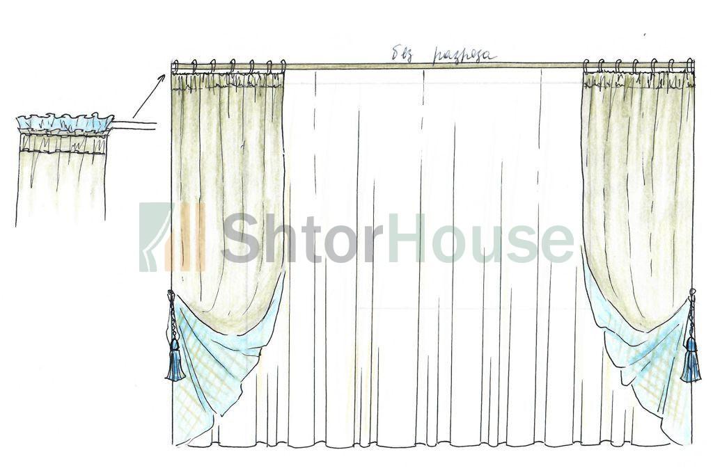 Замеры окон для пошива штор