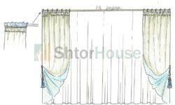 Замеры для пошива штор на заказ