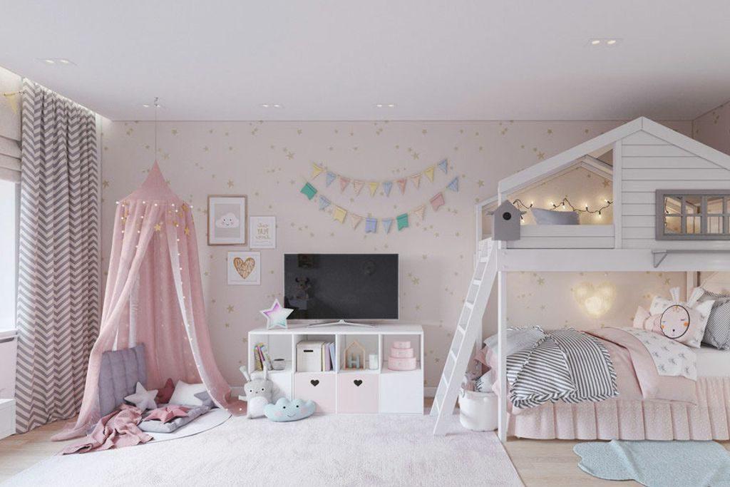 Детский стиль штор