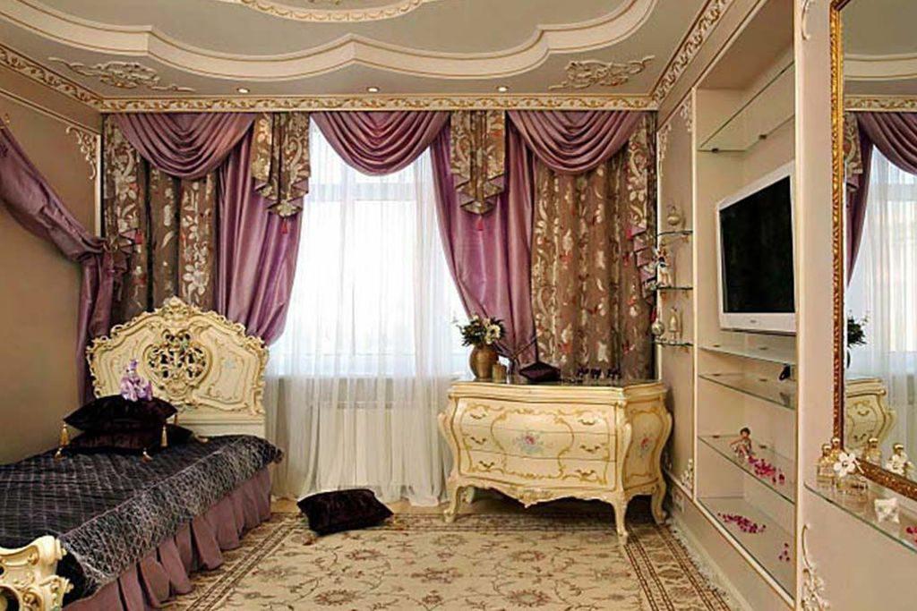 Викторианский стиль штор