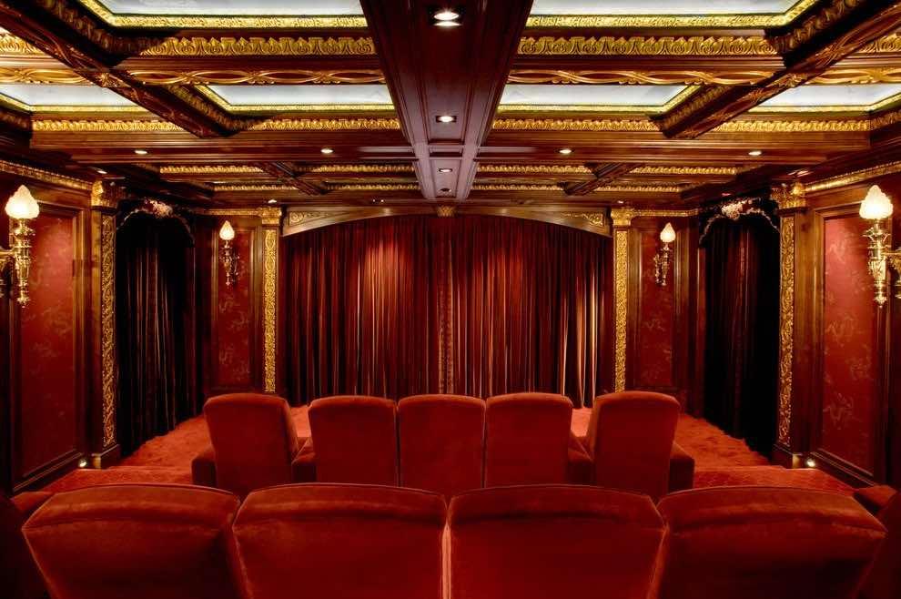 шторы для кинотеатра