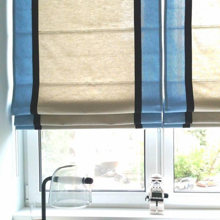 римские шторы на кухню заказать в москве