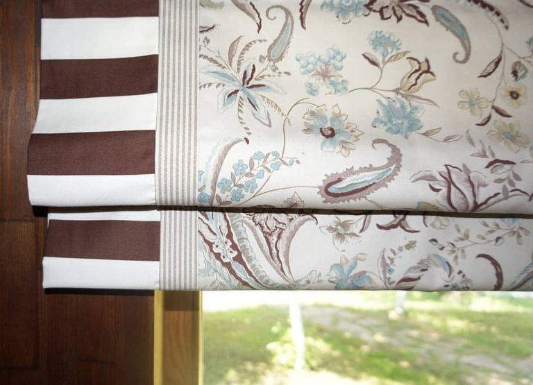 заказать пошив современной римской шторы в москве
