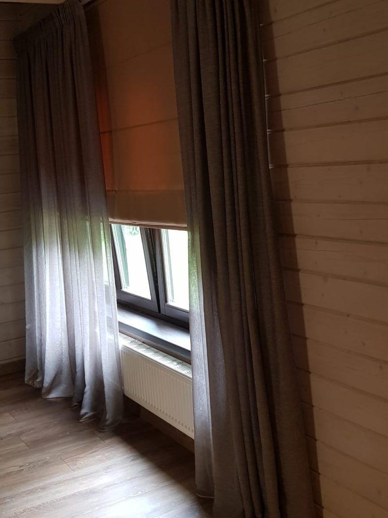 шторы для загородного дома от Garcia Design