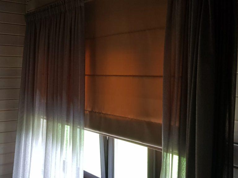 римские шторы для дома