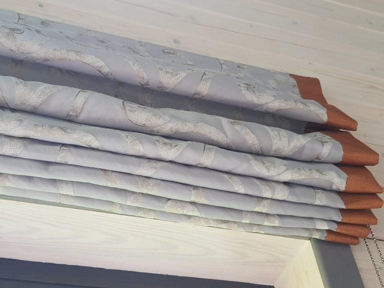 римские шторы для загородного дома от Garcia Design