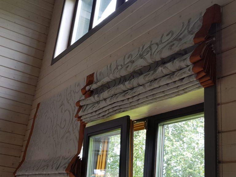 красивые римские шторы от Garcia Design