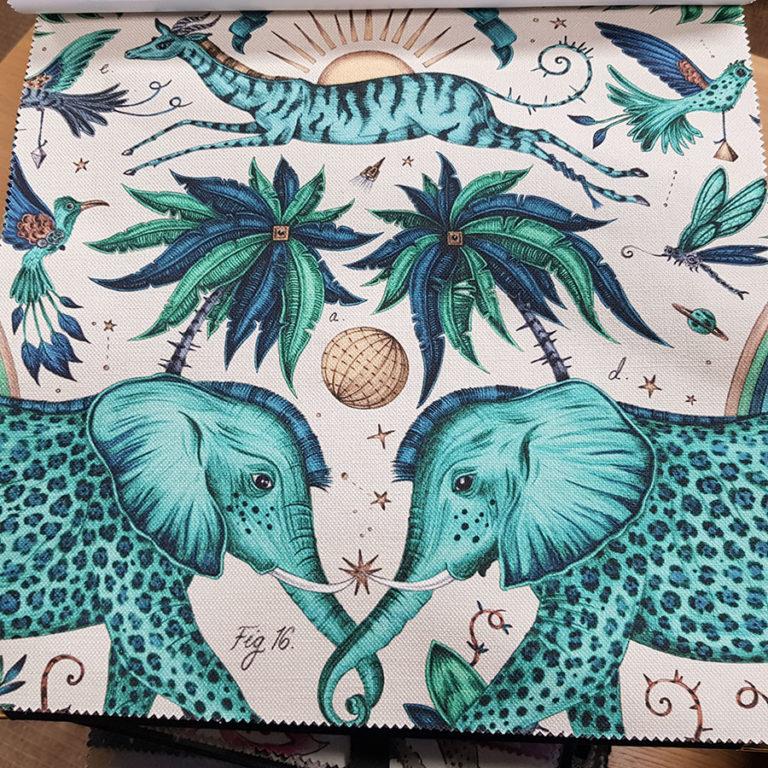 012- выбор мебельной ткани в GarciaDesign